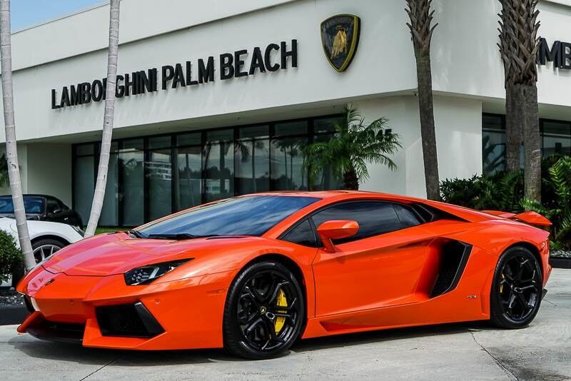 2012 Lamborghini Aventador West Palm Beach Fl 19711528
