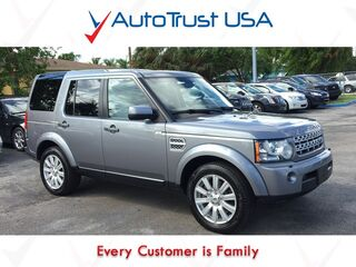 Land Rover LR4 LUX AWD Clean Carfax Nav Pano Roof Backup Cam 3rd Row Loaded 2012