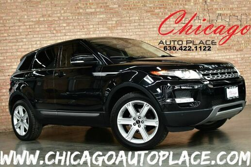 2012 Land Rover Range Rover Evoque Pure Plus - 2.0L SI4 ALUMINUM I4 TURBO ENGINE 4 WHEEL DRIVE NAVIGATION BACKUP CAMERA BLACK LEATHER HEATED SEATS PANO ROOF AMBIENT LIGHT CONTROL POWER LIFTGATE MERIDIAN AUDIO Bensenville IL