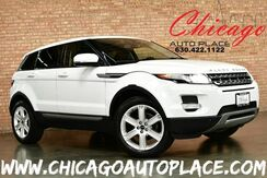 2012_Land Rover_Range Rover Evoque_Pure Premium - 2.0L SI4 ALUMINUM I4 TURBO ENGINE 4WD NAVIGATION BACKUP CAMERA BLACK LEATHER HEATED SEATS PANO ROOF MERIDIAN AUDIO_ Bensenville IL