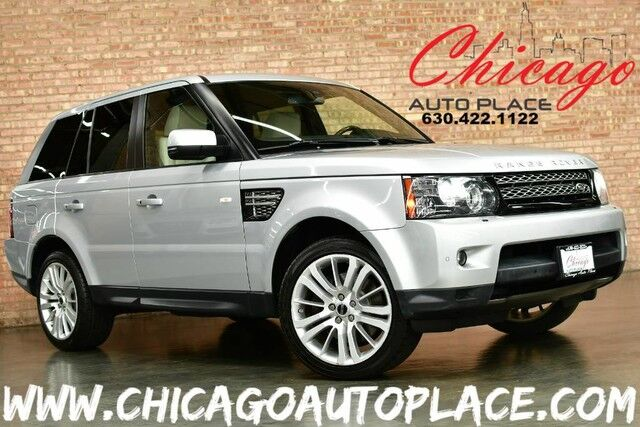 2012 Land Rover Range Rover Sport HSE LUX - 5.0L V8 ENGINE 4WD 1 OWNER NAVIGATION BACKUP CAMERA IVORY LEATHER HEATED SEATS SUNROOF XENONS HARMAN/KARDON AUDIO Bensenville IL