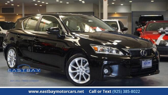 2012_Lexus_CT 200h_Premium with Navigation/Back up_ San Ramon CA