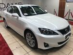 2012 Lexus IS IS 250 PEARL WHITE WITH WHITE INTERIOR