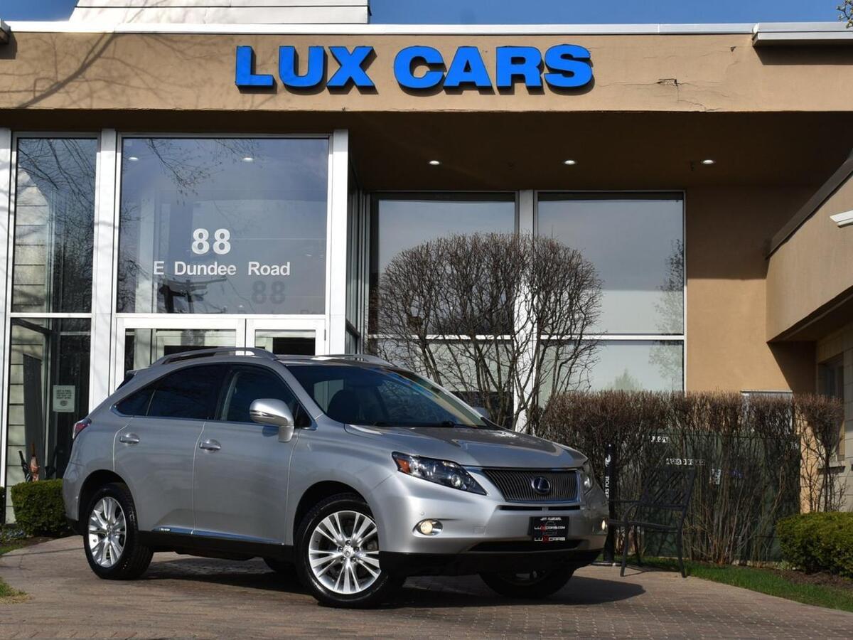 2012_Lexus_RX 450h_Nav Premium PKG AWD MSRP $56,120_ Buffalo Grove IL
