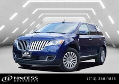 Lincoln MKX CLEAN CARFAX LEATHER HEATED COOLED SEATS 2012