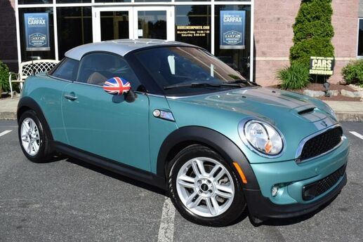 2012 MINI Cooper Coupe S Easton PA