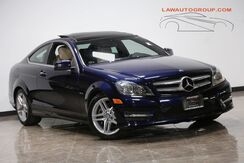 2012_Mercedes-Benz_C 350 4Matic_Navigation/ Back-Up Camera/ Panoramic Sunroof_ Bensenville IL