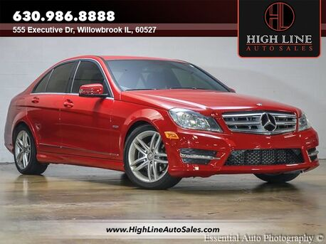 2012_Mercedes-Benz_C-Class_C 250 Luxury_ Willowbrook IL
