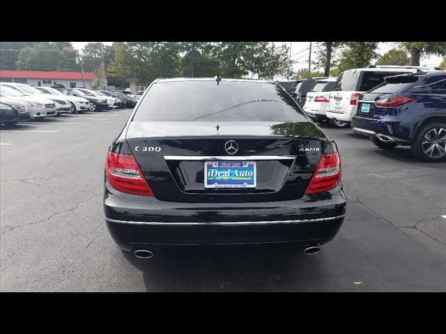 2012 Mercedes-Benz C-Class C 300 Luxury 4MATIC Raleigh NC