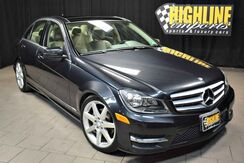 2012_Mercedes-Benz_C-Class_C 300 Sport_ Easton PA
