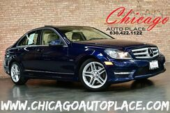 2012_Mercedes-Benz_C-Class_C 350 Sport - 3.5L V6 ENGINE AMG SPORT PACKAGE REAR WHEEL DRIVE NAVIGATION BACKUP CAMERA SUNROOF TAN LEATHER HEATED SEATS HARMAN/KARDON AUDIO_ Bensenville IL