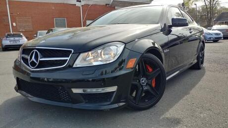 2012 Mercedes-Benz C-Class C63 AMG Coupe Charlotte and Monroe NC