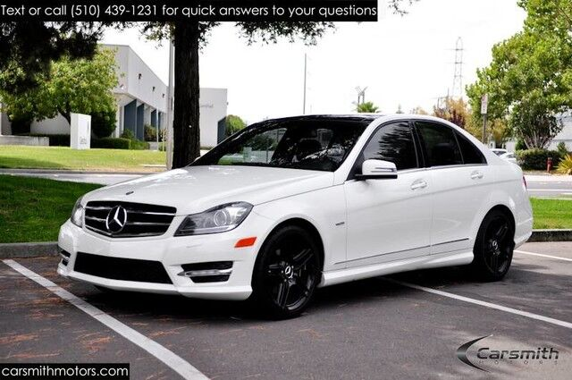 2012 Mercedes-Benz C250 Sport Wow! Navigation, AMG Wheels, Panorama Roof &  MORE!