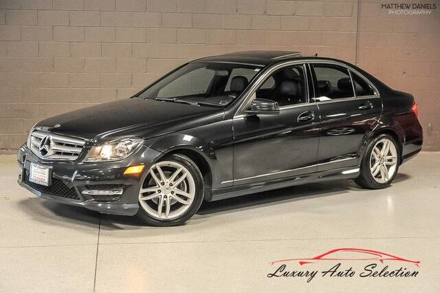2012_Mercedes-Benz_C300 4Matic_4dr Sedan_ Chicago IL