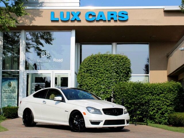 2012_Mercedes-Benz_C63_AMG COUPE PANOROOF MSRP $71,670_ Buffalo Grove IL