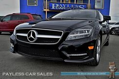 2012_Mercedes-Benz_CLS 550_4Matic AWD / Bi-Turbo V8 / Heated & Ventilated Leather Seats / Navigation / Sunroof / Harman Kardon Speakers / Blind Spot & Lane Departure Assist / Bluetooth / Back Up Sensors & Camara / Only 53k Miles_ Anchorage AK