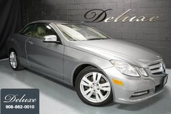 Mercedes-Benz E 350 Cabriolet, Premium 1 Launch Package, Navigation System, Rear-View Camera, Harman Kardon Sound, Heated Leather Seats, 17-Inch Alloy Wheels, 2012