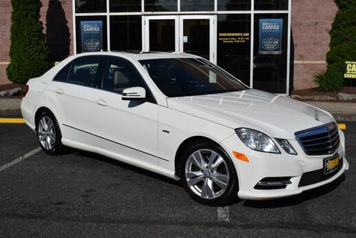 2012 Mercedes-Benz E-Class E 350 Luxury BlueTEC Easton PA