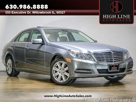 2012_Mercedes-Benz_E-Class_E 350 Sport_ Willowbrook IL