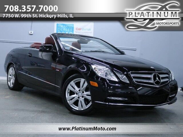 2012 Mercedes-Benz E350 Convertible 2 Owner Nav Back up Loaded Hickory Hills IL