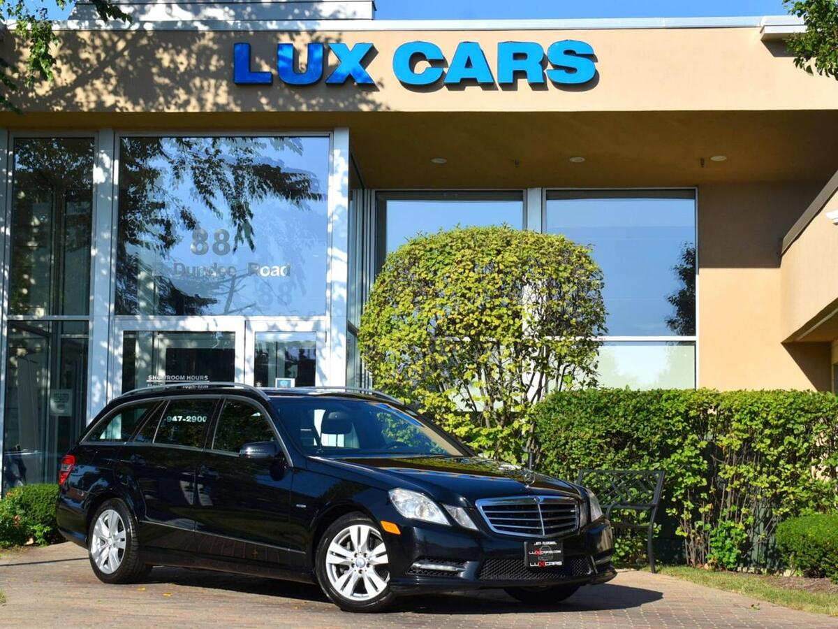 2012_Mercedes-Benz_E350_Sport Wagon P1 Nav 4MATIC MSRP $61,445_ Buffalo Grove IL