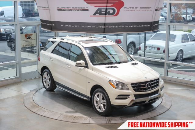 2012 Mercedes-Benz M-Class ML350 BlueTEC Chantilly VA