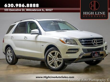 2012_Mercedes-Benz_M-Class_ML350_ Willowbrook IL