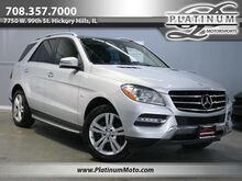2012_Mercedes-Benz_ML350 4Matic_Pano Back Up Camera Nav Boards Loaded_ Hickory Hills IL