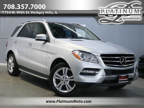 2012 Mercedes-Benz ML350 4Matic Pano Back Up Camera Nav Boards Loaded Hickory Hills IL