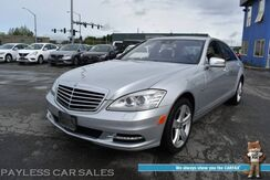 2012_Mercedes-Benz_S 550_4Matic AWD / 4.6L Bi Turbo V8 / P2 Pkg / Parktronic / Massaging Heated Leather Seats / Harman Kardon Speakers / Navigation / Sunroof / Bluetooth / Back Up Camera / Keyless GO Pkg / Low Miles_ Anchorage AK