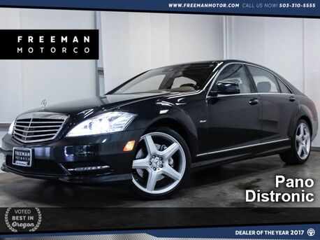 2012_Mercedes-Benz_S 550_Pano Blind Spot Asst Htd/Cooled Seats_ Portland OR