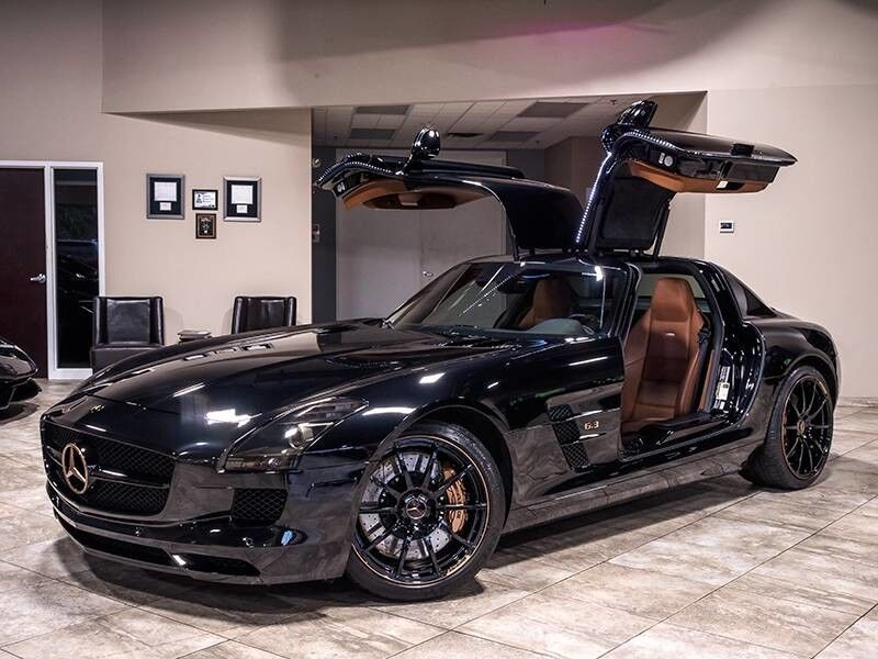 2012_Mercedes-Benz_SLS AMG GULLWING_2dr Coupe_ Chicago IL