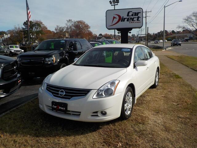 2012 NISSAN ALTIMA SPECIAL EDITION, BUY BACK GUARANTEE AND WARRANTY, SAT RADIO, BLUETOOTH, BACKUP CAMERA, LOW MILES! Virginia Beach VA
