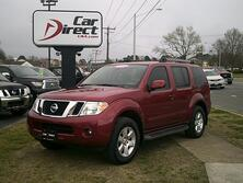 NISSAN PATHFINDER LE 4X4, AUTOCHECK CERTIFIED, NAVI, BACK-UP CAM, 3RD ROW SEAT, RUNNING BOARDS, ONLY 84K MI, MINT! 2012