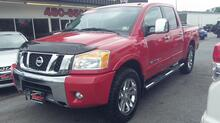 2012_NISSAN_TITAN_SL CREWCAB 4X4, AUTOCHECK CERTIFIED, REMOTE START, TOW PKG, SUNROOF, HEATED LEATHER, ONE OWNER!_ Norfolk VA