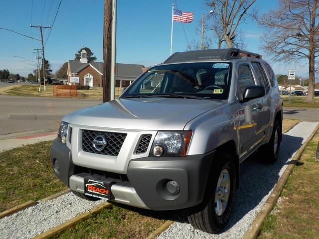 2012 NISSAN XTERRA S 4X4, BUYBACK GUARANTEE, WARRANTY, TOW PACKAGE, SATELLITE RADIO, ONLY 69K MILES, IMMACULATE!!! Norfolk VA