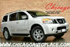 2012_Nissan_Armada_Platinum - 5.6L ENDURANCE V8 ENGINE 4WD NAVIGATION BACKUP CAMERA BLACK LEATHER HEATED SEATS + STEERING WHEEL REAR TV/DVD POWER 3RD ROW BOSE AUDIO BLUETOOTH_ Bensenville IL