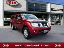 2012_Nissan_Frontier_4WD CREW CAB SWB AUTO SV_ Mount Hope WV