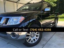 2012_Nissan_Frontier_SL Crew Cab 4WD_ Charlotte and Monroe NC