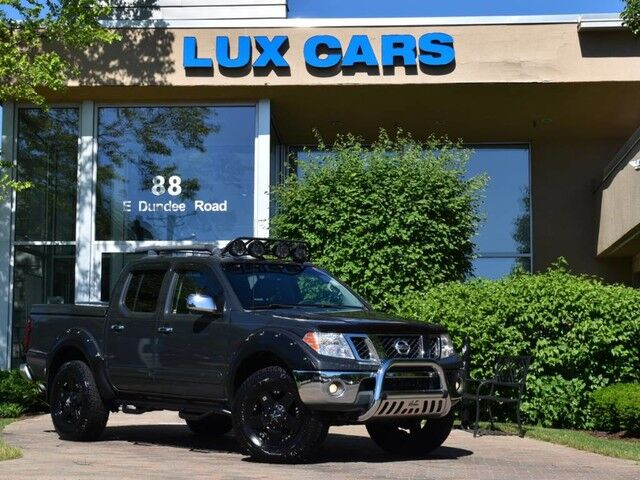 2012_Nissan_Frontier_SL Lifted Leather 4WD_ Buffalo Grove IL