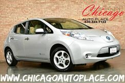 2012_Nissan_LEAF_SV - 80kw AC Synchronous Electric Motor NAVIGATION BACKUP CAMERA KEYLESS GO TAN CLOTH INTERIOR FRONT + REAR HEATED SEATS BLUETOOTH HID HEADLAMPS_ Bensenville IL