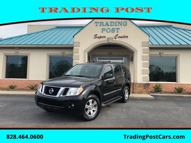 2012_Nissan_Pathfinder_Silver Edition_ Conover NC
