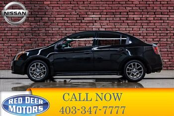 2012_Nissan_Sentra_SE-R Spec V Manual Nav Roof BCam_ Red Deer AB