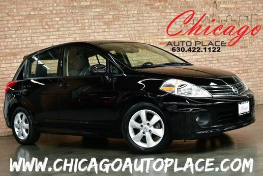 2012 Nissan Versa S - 1.8L I4 ENGINE FRONT WHEEL DRIVE CLEAN CARFAX CHARCOAL CLOTH PREMIUM ALLOY WHEELS Bensenville IL