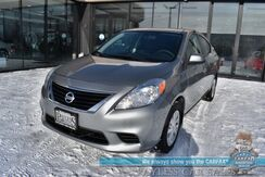 2012_Nissan_Versa_SV / Automatic / Auto Start / Power Locks & Windows / Aux Input / Cruise Control / 38 MPG_ Anchorage AK