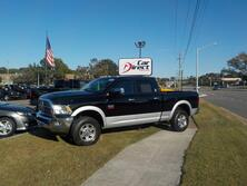 RAM 2500 LARAMIE, CERTIFIED W/WARRANTY, NAVI, DVD, BED LINER, TOW PKG, REMOTE START, LOW MILES!! 2012