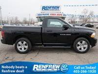 Ram 1500 4WD Reg Cab Outdoorsman, SiriusXM Satellite Radio, Bluetooth, Tonneau Cover 2012