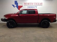 2012_Ram_1500_SLT 4x4 Lifted Crew Black Wheels Touch Screen Bluetooth_ Mansfield TX