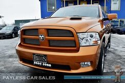 2012_Ram_1500_Sport / 4X4 / Crew Cab / 5.7L V8 HEMI / Heated & Ventilated Leather Seats / Heated Steering Wheel / Sunroof / Navigation / Alpine Speakers & Subwoofer / Auto Start / Bluetooth / Back Up Camera / Tow Pkg_ Anchorage AK