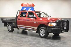 2012_Ram_2500_CREWCAB 4WD! CUSTOM HYDRAULIC HAY BAIL SPIKE FLATBED! ONLY 77,334 MILES! LIKE NEW!!_ Norman OK